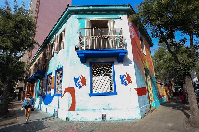 Entrega de la Casa del músico chileno