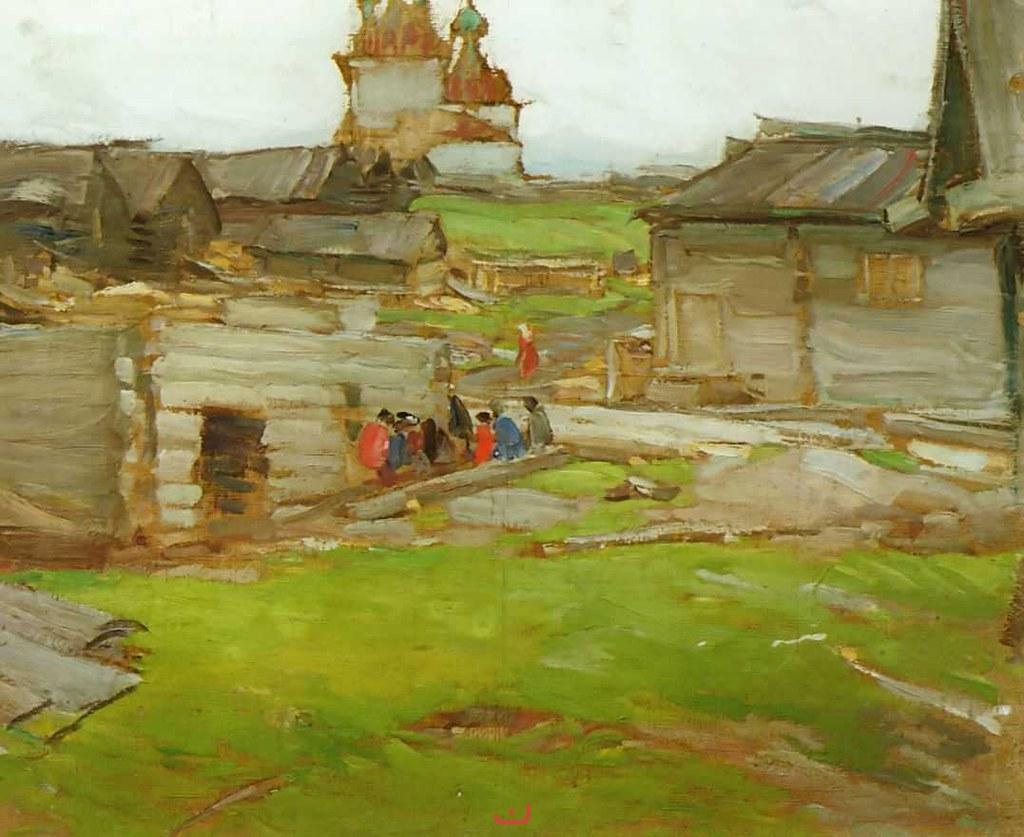 阿布拉姆·阿尔希波夫画作选11
