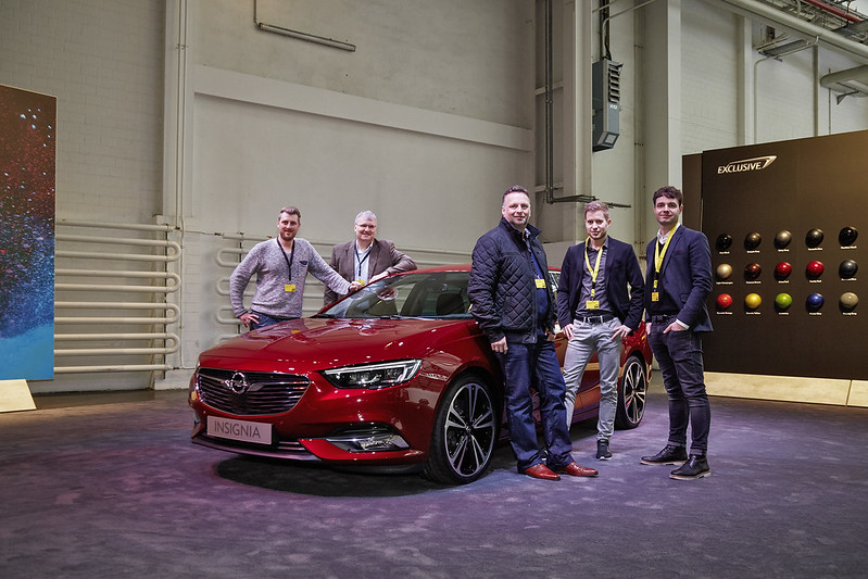 Insignia Grand Sport Exclusive: Opel-Blog Leser gehen auf Tuchfühlung