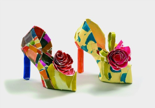Paper Shoes by Ida Rak