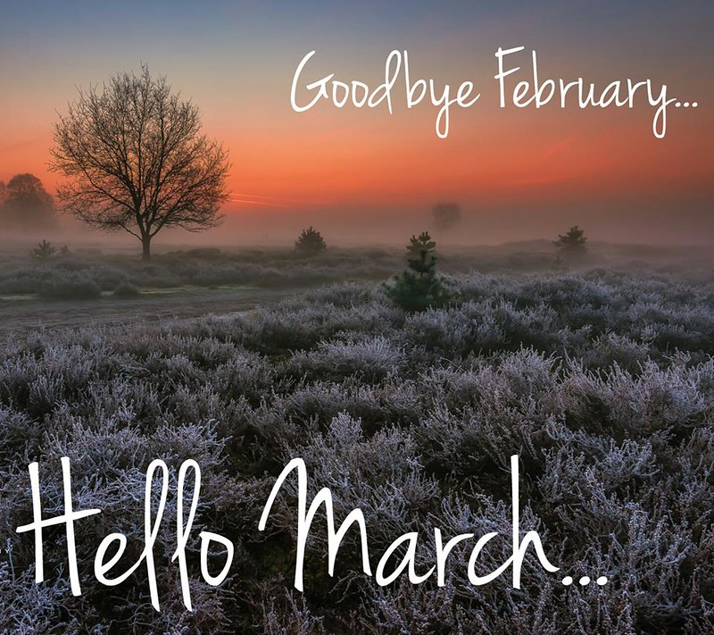 Welcome March.