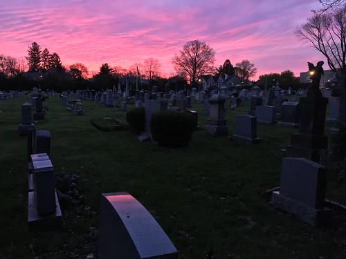 Princeton Graveyard Sunrise