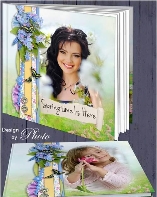 Photobook for Photoshop – sun, spring and joy