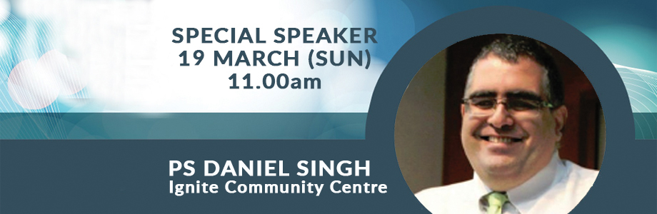 Guest Speaker – Next Sunday, 19th March
