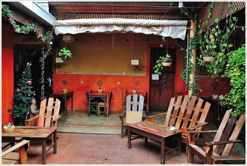 3彩虹咖啡庭院