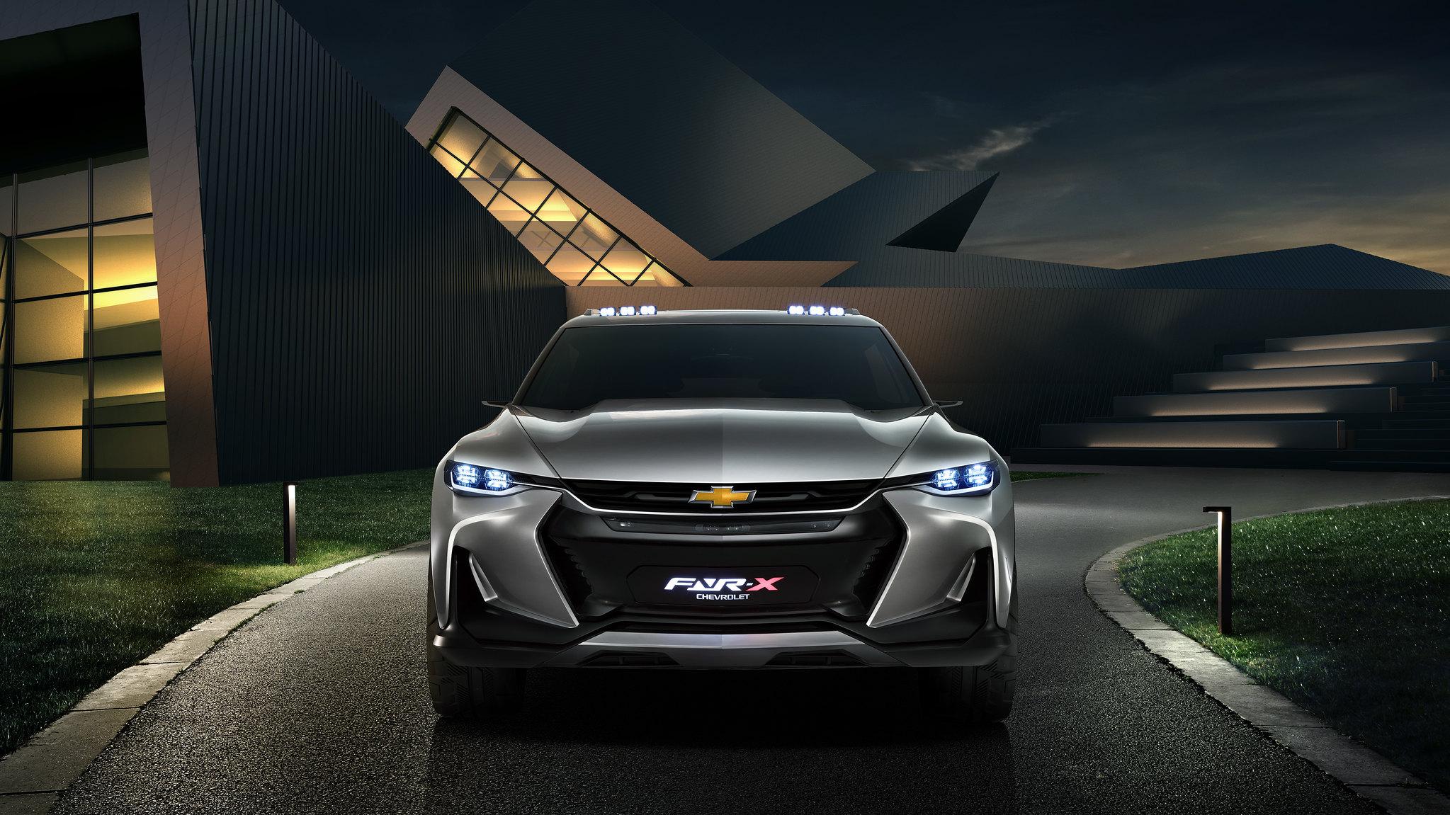 Chevrolet FNR-X concept makes global debut at Auto Shanghai 2017