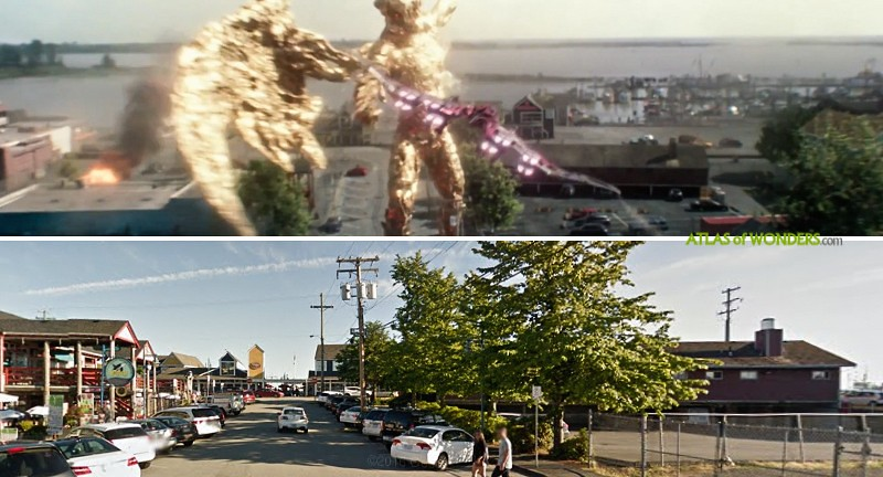 Power Rangers locations
