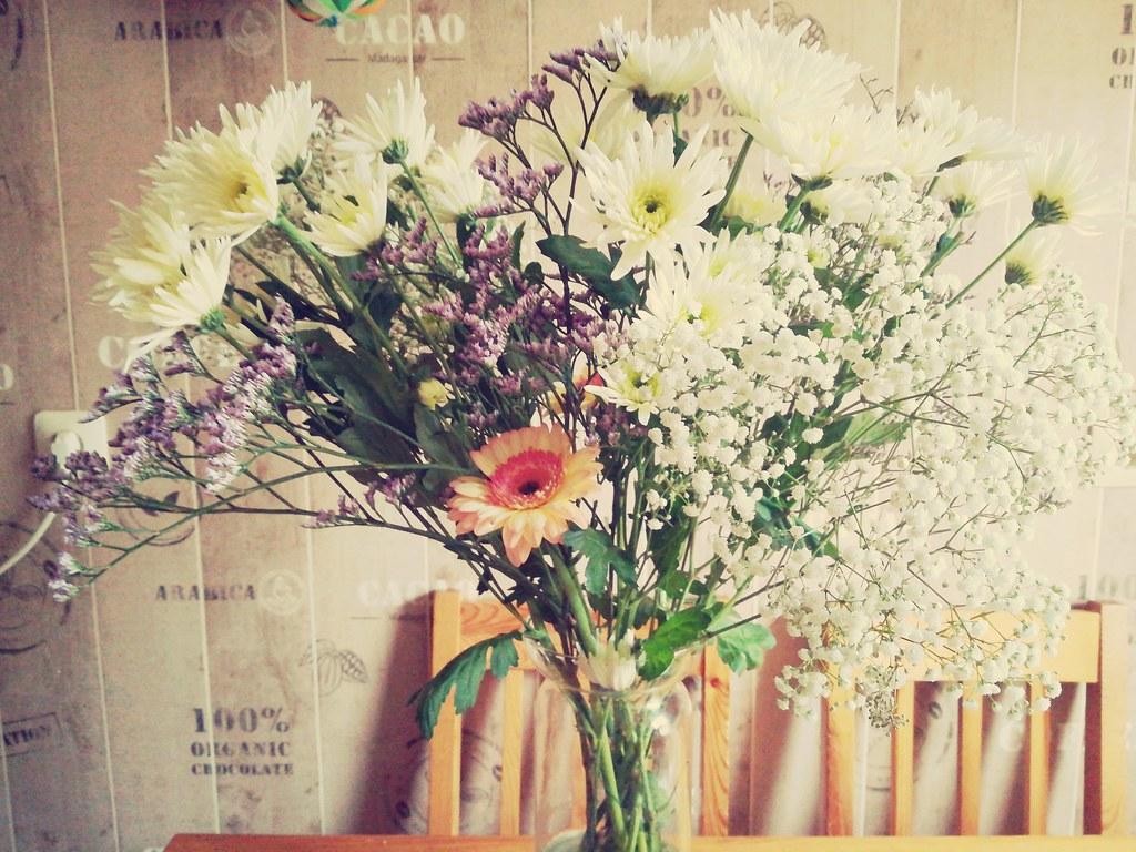 My Birthday Flowers Nor Klarissa B Flickr