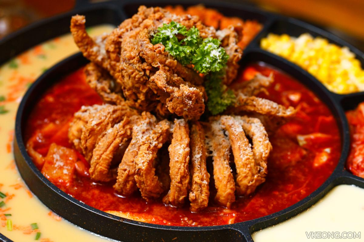 Chicken Up Squid Topokki