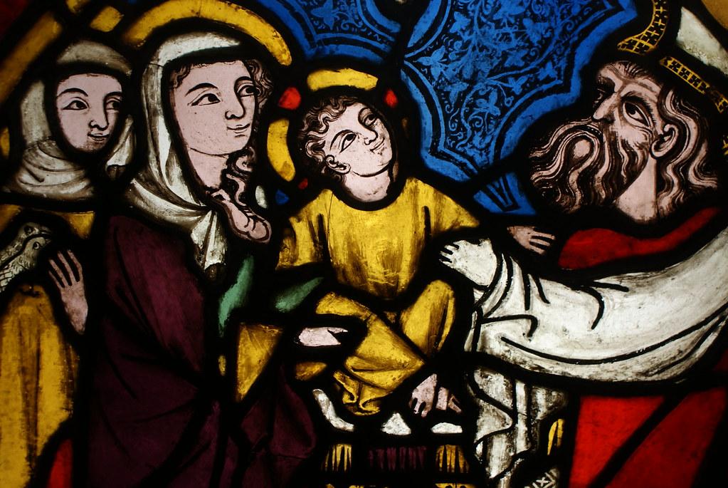 De nombreux vitraux médiévaux se trouvent dans le musée d'architecture de Wroclaw.