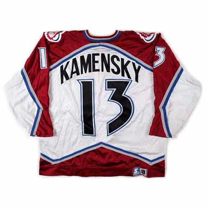 Colorado Avalanche 1995-96 B jersey