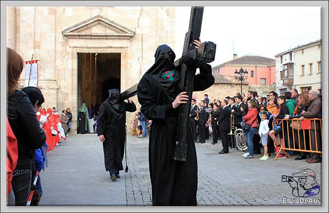 Procesión del Santo Entierro en la Semana Santa de Briviesca 2017 8