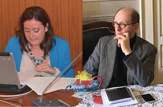 Il consigliere Verna e l'assessore Ardito