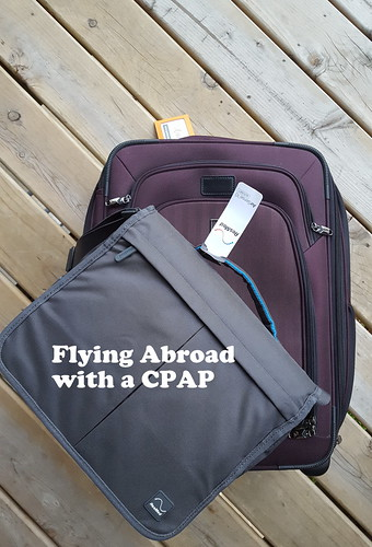 Flying Abroad with a CPAP