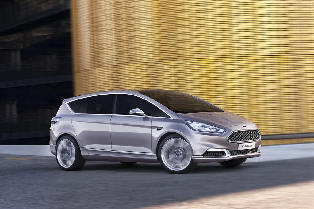 S Max Vignale >> Ford S Max Vignale Concept The New Ford S Max Vignale Conc
