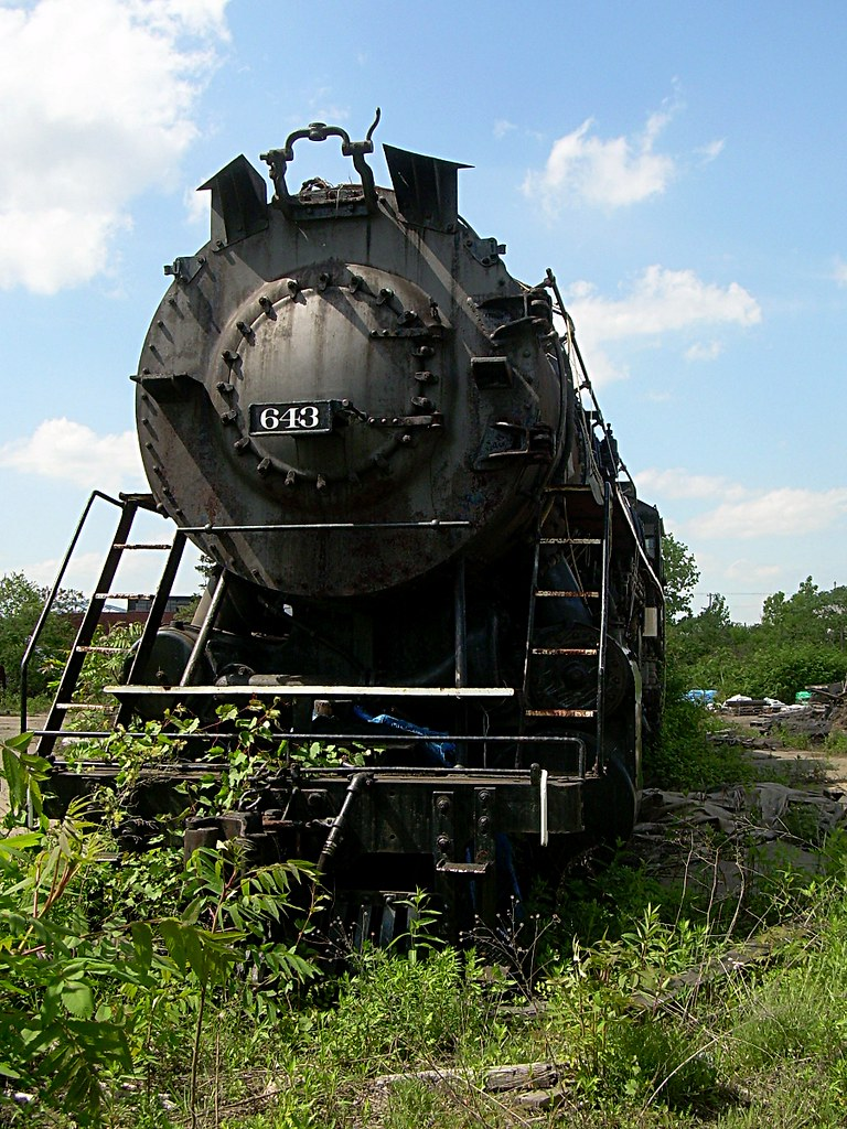 B Amp Le 643 Bessemer And Lake Erie 2 10 4 Steam Locomotive