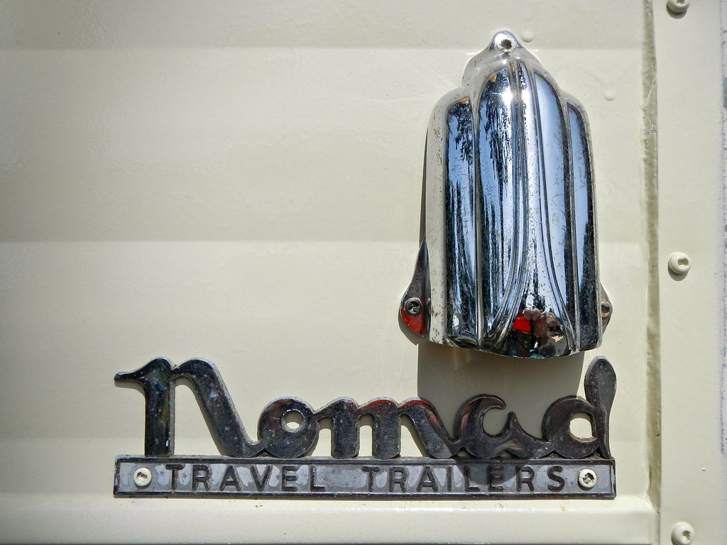 Nomads Logo Nomad Travel Trailers Logo