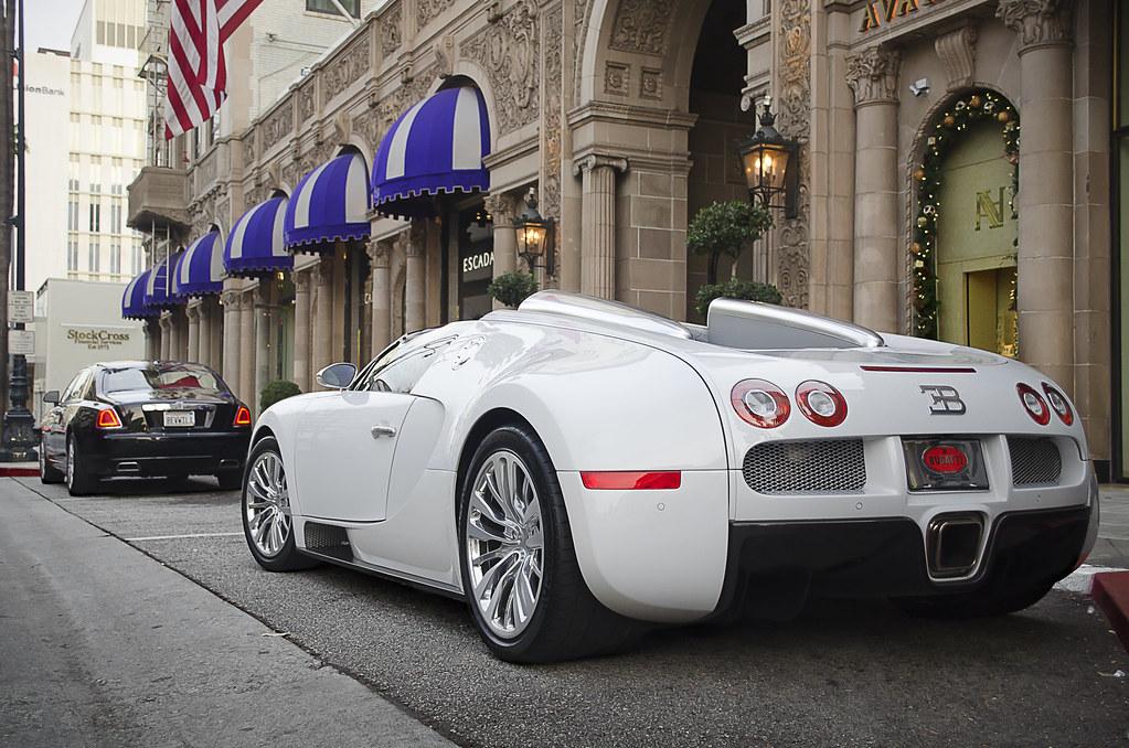 Bugatti Veyron Grand Sport And Rolls Royce Ghost Bugatti