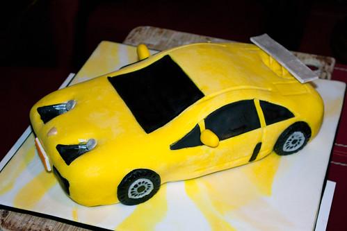 Sports Car Cake Pan