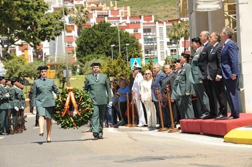 Inauguraci n de la avenida de la guardia civil en algecira for Ministerio del interior guardia civil