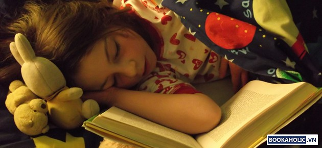 Reading to sleep