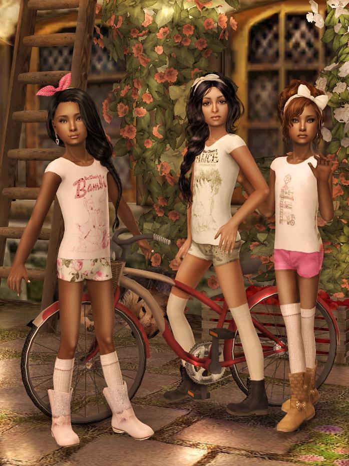 Little Top Models  Paulina,Yasminaliliana For Mj Yamina -7950