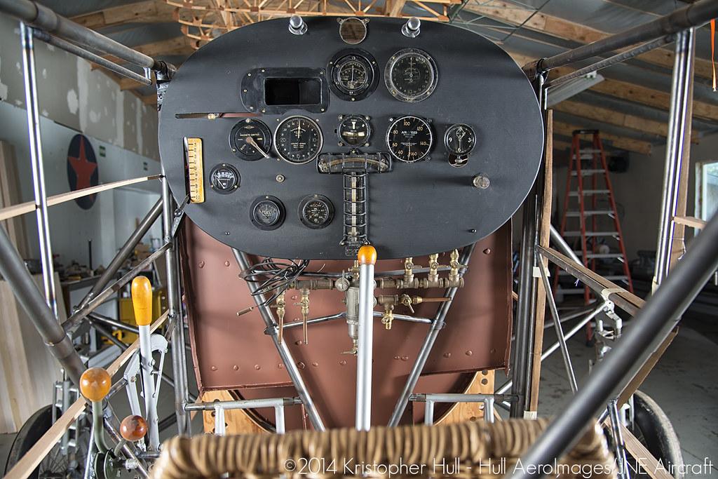 Spirit Of St Louis Replica Cockpit Kristopher Hull Flickr