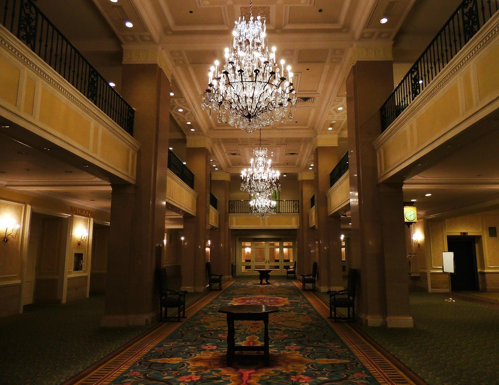 Foyer Hotel Jobs : Third floor convention level lobby foyer fairmont r