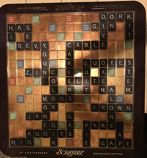 My Greatest Scrabble Board Ever