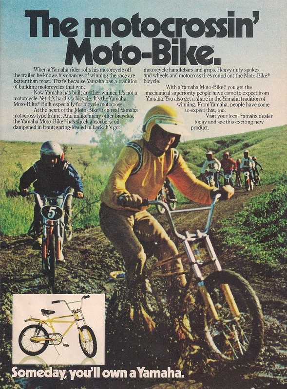 Yamaha Moto-Bike 1974