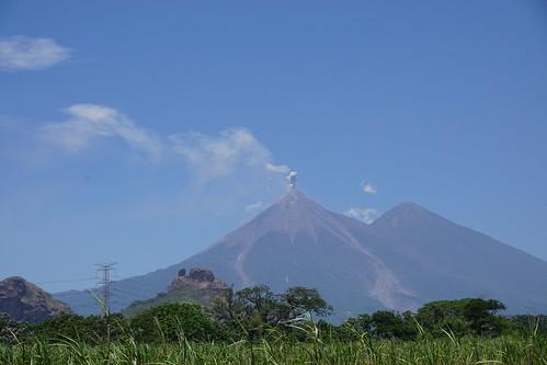 Fuego Volcano & Acatenango Volcano