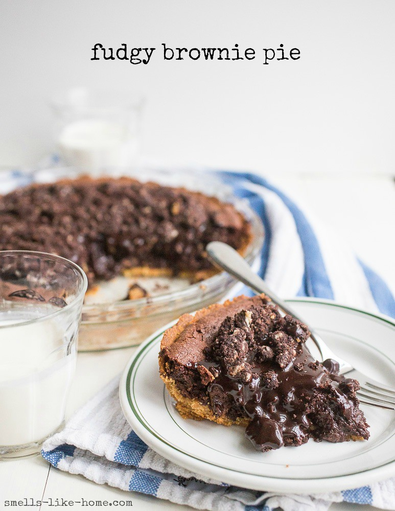 Fudgy Brownie Pie