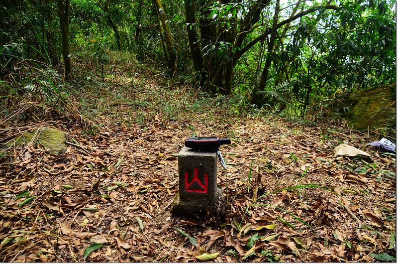 吐蛇流山西北峰山字森林三角點(Elev. 930 m) 2