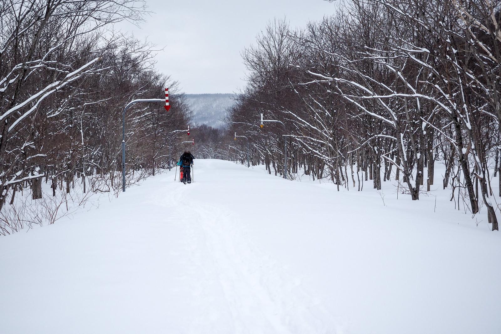 Mt. Shokanbetsu-dake Ski Touring (Hokkaido, Japan)