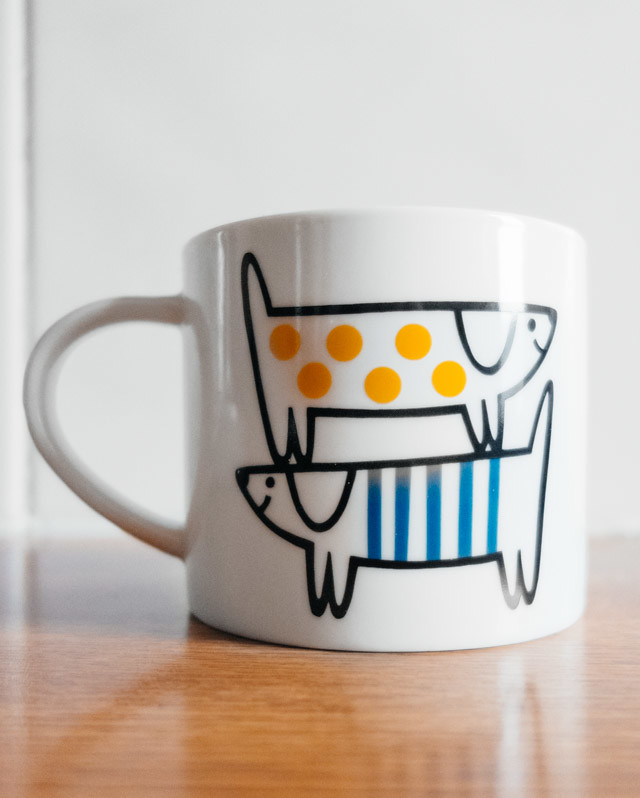easy ways to bring colour into your home | jane foster mug