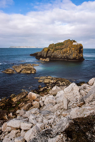 Coastline near Carrick-a-Rede