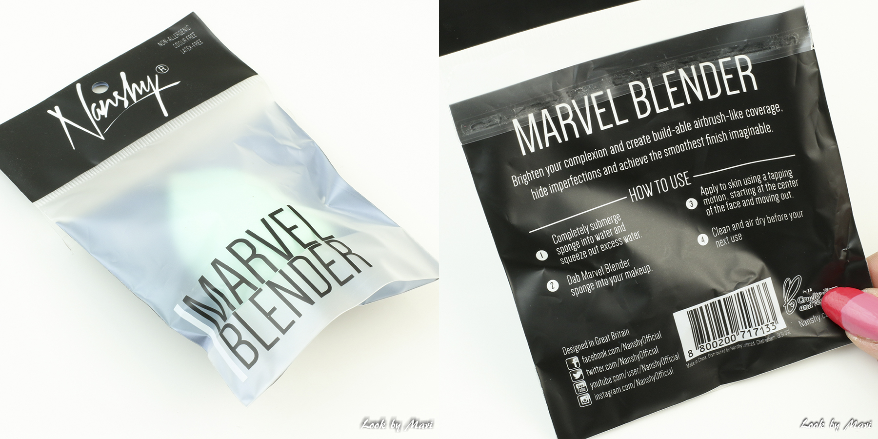 4 nanshy marvel blender sponge review kokemuksia käyttö kuinka käyttää meikkisienen käyttö how to use review