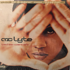 MC LYTE:BAD AS I WANNA B(JACKET A)