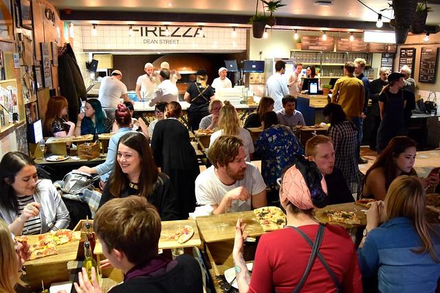 Launch Party at Firezza, Soho | www.rachelphipps.com @rachelphipps
