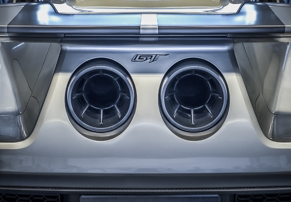 Ford Gt Exhaust By Dennis Schrader Photography