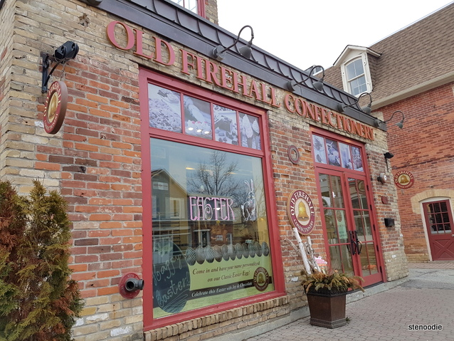 Old Firehall Confectionery exterior