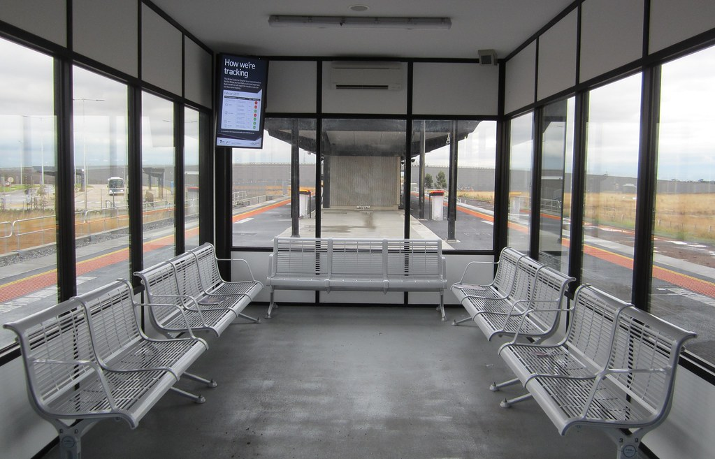 Waiting room, Caroline Springs Station