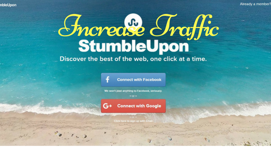 How to Increase Website Traffic With StumbleuponHow to Increase Website Traffic With Stumbleupon