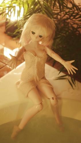 沙夜:風呂撮影
