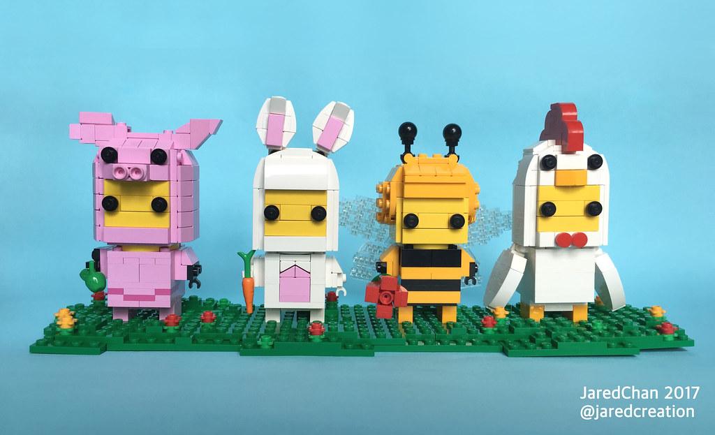 Animal Suit Guys Brickheadz - Jared Chan