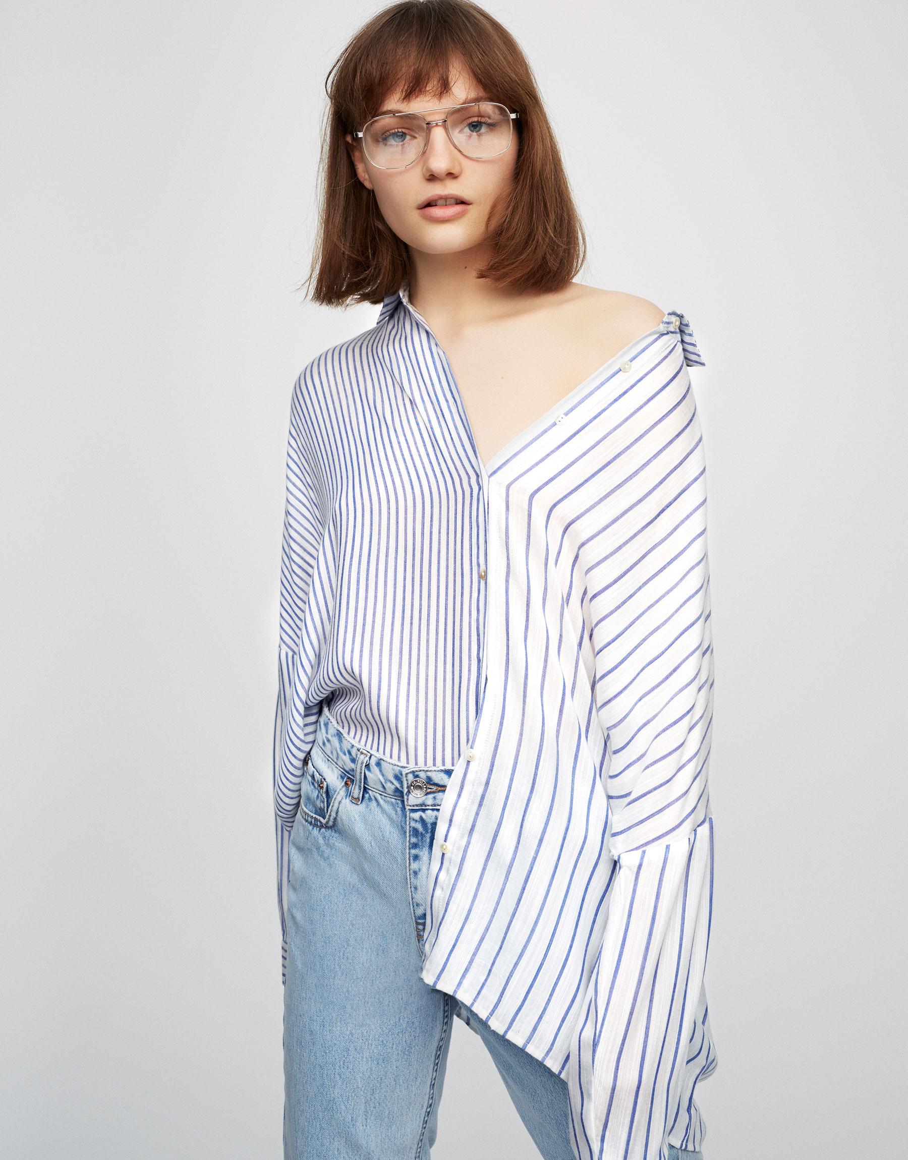 blusa rayas Pull&Bear