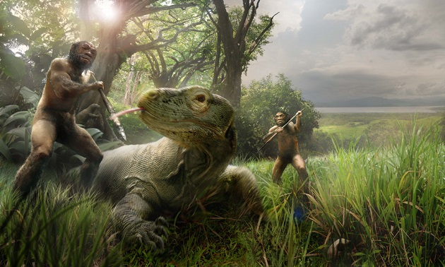 homo-floresiensis-komodo-dragon-flight
