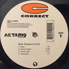 AL' TARIQ:GOD CONNECTIONS(LABEL SIDE-A)