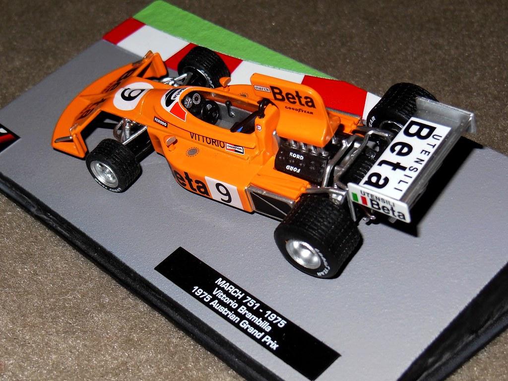 """... MARCH 751 F1 """"Beta"""" Vittorio Brambilla - 1/43 ..."""