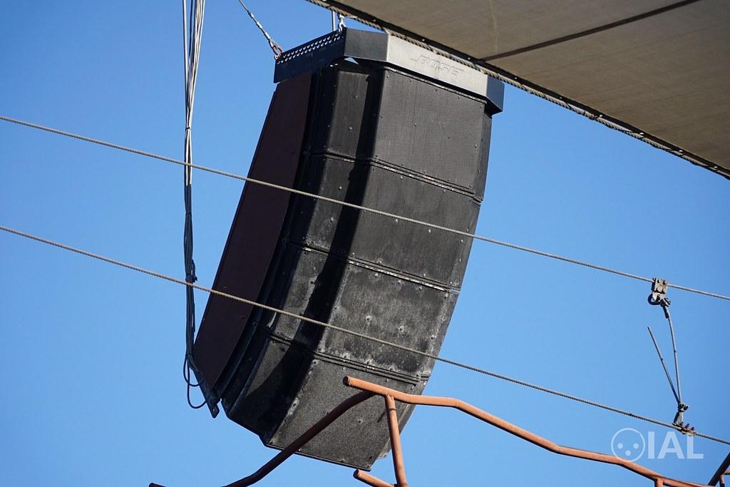 A look at the Bose RoomMatch at WaterWorld at Universal Studios Hollywood